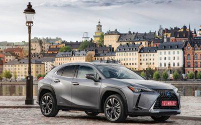 A Lexus escolhe a Bridgestone, run-flats Dunlop para crossover compacto UX